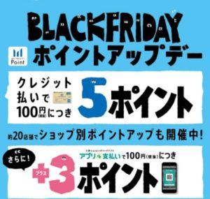 ブラックフライデー(^_-)-☆